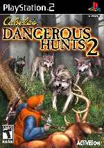 miniatura Cabelas Dangerous Hunts 2 Frontal Por Tepman cover ps2
