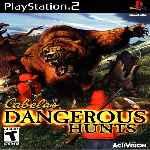 miniatura Cabelas Dangerous Hunts Frontal Por Warcond cover ps2