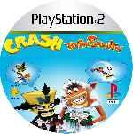 miniatura Crash Twinsanity Cd Custom V2 Por Mierdareado cover ps2