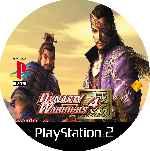 miniatura Dynasty Warriors 4 Cd Custom Por Mierdareado cover ps2