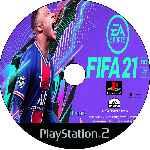 miniatura Fifa 21 Cd Custom Por Johny1489 cover ps2