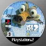 miniatura Ice Age 2 El Deshielo Cd Custom Por Bobmar cover ps2