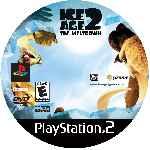 miniatura Ice Age 2 The Meltdown Cd Custom Por Tepman cover ps2