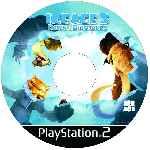 miniatura Ice Age 3 El Origen De Los Dinosaurios Cd Custom V2 Por Jairoguzman cover ps2