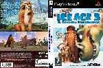 miniatura Ice Age 3 El Origen De Los Dinosaurios Dvd Custom Por Javilonvilla cover ps2