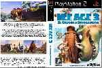 miniatura Ice Age 3 El Origen De Los Dinosaurios Dvd Custom V2 Por El Verderol cover ps2