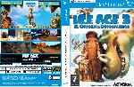 miniatura Ice Age 3 El Origen De Los Dinosaurios Dvd Custom V3 Por Gatz cover ps2