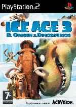 miniatura Ice Age 3 El Origen De Los Dinosaurios Frontal Por Javilonvilla cover ps2