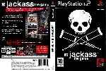 miniatura Jackass The Game Dvd Custom V2 Por Ferr cover ps2
