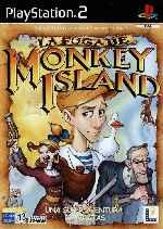 miniatura La Fuga De Monkey Island Frontal Por Humanfactor cover ps2