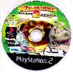 miniatura Madagascar 2 Cd Custom Por Katun cover ps2