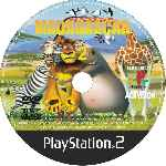 miniatura Madagascar 2 Cd Custom V2 Por Caminante777 cover ps2