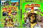 miniatura Madagascar 2 Dvd Custom Por Gatz cover ps2