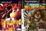 miniatura Madagascar Rayman M Dvd Custom Por Josefergo cover ps2