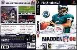 miniatura Madden Nfl 06 Dvd Por Xpelaocorex cover ps2