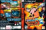 miniatura Naruto Shippuden Ultimate Ninja 4 Dvd Por Sercho78 cover ps2