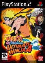miniatura Naruto Shippuden Ultimate Ninja 4 Frontal Por Javilonvilla cover ps2