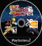 miniatura Naruto Shippuden Ultimate Ninja 5 Cd Custom Por Johnparra cover ps2