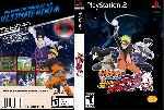 miniatura Naruto Shippuden Ultimate Ninja 5 Dvd Custom Por Johnparra cover ps2