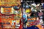 miniatura Naruto Shippuden Ultimate Ninja 5 Dvd Custom V4 Por Humanfactor cover ps2