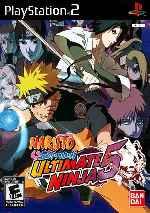 miniatura Naruto Shippuden Ultimate Ninja 5 Frontal Por Humanfactor cover ps2