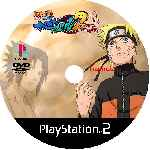 miniatura Naruto Shippuuden Narutimate Accel 2 Cd Custom V2 Por Uchijanaruto cover ps2