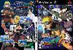 miniatura Naruto Shippuuden Narutimate Accel 2 Dvd Custom Por Futon Shuriken Rasen cover ps2