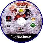 miniatura Naruto Ultimate Ninja Cd Por Jenova cover ps2