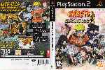 miniatura Naruto Ultimate Ninja Dvd Por Ocigames cover ps2