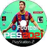 miniatura Pes 2021 Cd Custom Por Johny1489 cover ps2