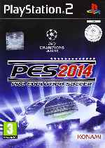 miniatura Pro Evolution Soccer 2014 Frontal V2 Por Matiwe cover ps2