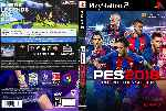 miniatura Pro Evolution Soccer 2018 Dvd Por Artjjk cover ps2