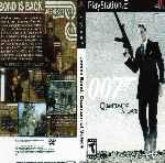 miniatura Quantum Of Solace Dvd Custom V4 Por Juanxxox cover ps2