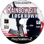 miniatura Rainbow Six Lockdown Cd Custom Por Alfie75 cover ps2