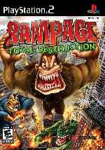 miniatura Rampage Total Destruction Frontal Por Frangato cover ps2