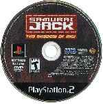 miniatura Samurai Jack The Shadow Of Aku Cd Por Seaworld cover ps2
