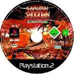 miniatura Samurai Showdown Anthology Cd Custom Por Estre11a cover ps2
