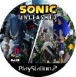 miniatura Sonic Unleashed Cd Custom V2 Por Mierdareado cover ps2