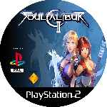 miniatura Soul Calibur 2 Cd Custom Por Mierdareado cover ps2