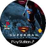 miniatura Superman Returns Cd Custom V3 Por Mierdareado cover ps2