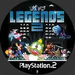 miniatura Taito Legends 2 Cd Custom V2 Por Queleimporta cover ps2