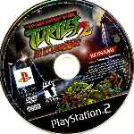 miniatura Teenage Mutant Ninja Turtles 2 Batlle Nexus Cd Por Terranio cover ps2