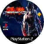 miniatura Tekken 5 Cd Custom V3 Por Mierdareado cover ps2