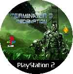 miniatura Terminator 3 The Redemption Cd Custom V2 Por Mierdareado cover ps2