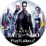 miniatura The Matrix Path Of Neo Cd Custom V2 Por Mierdareado cover ps2