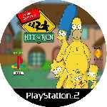 miniatura The Simpsons Hit And Run Cd Custom V2 Por Mierdareado cover ps2