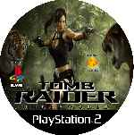 miniatura Tomb Raider Underworld Cd Custom V5 Por Mierdareado cover ps2