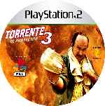 miniatura Torrente 3 El Protector Cd Custom Por Mierdareado cover ps2