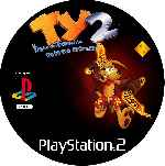 miniatura Ty El Tigre De Tasmania 2 Rescate Agreste Cd Custom Por Mierdareado cover ps2
