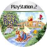 miniatura Winnie The Pooh La Fiesta De Cumpleanos Cd Custom Por Mierdareado cover ps2